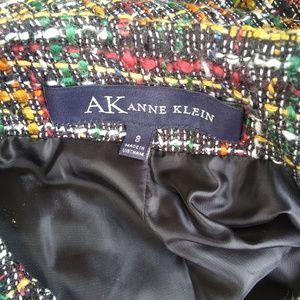 Anne Klein Jackets & Coats - Anne Klein Colorful Tweed Blazer